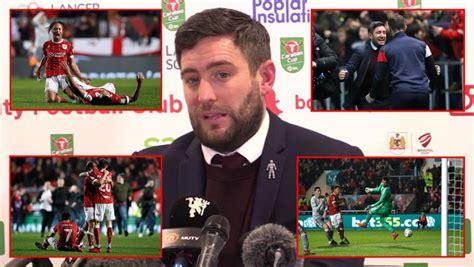 Bristol City players take to social media to celebrate ...
