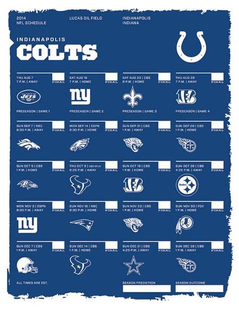indianapolis colts  nfl schedule fathers day