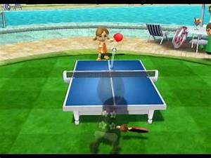Planned All Along: Wii Sports Resort (Part 1)  Table Tennis Sports