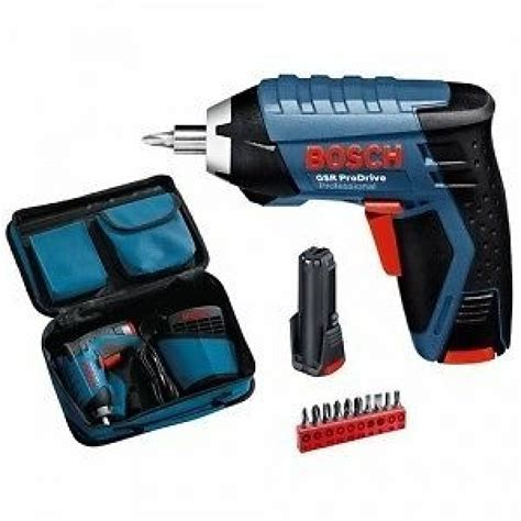bosch gsr  prodrive cordless screwdriver  power tools