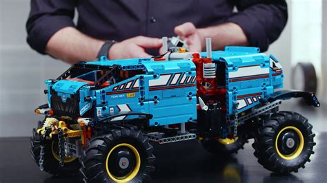 lego technic 42070 6x6 all terrain tow truck designer