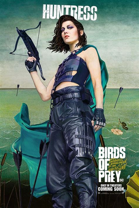 character posters  birds  prey released