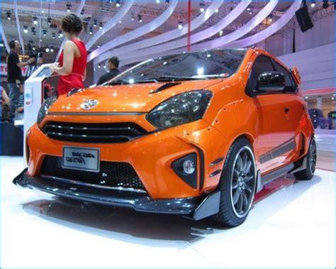 Modifikasi Mobil Agya Terbaru by Modifikasi Mobil Agya Terbaru Trd Tipe G Warna Merah