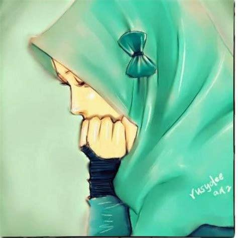 gambar kartun muslimah terbaru kualitas hd terbaru