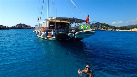 Boat Cruise Turkey by Kalkan Gulet Day Cruise Our Luxury Wooden Gulet Is Waiting