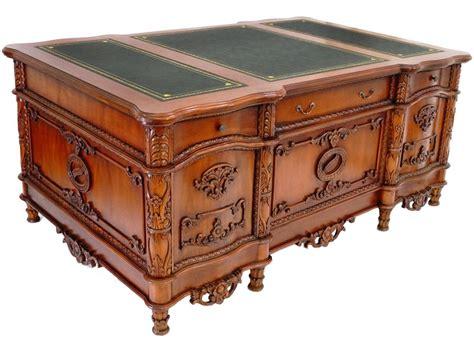bureau de style meubles style anglais acajou table de lit
