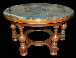 french walnut marble top coffee table for sale antiques With antique marble coffee table for sale