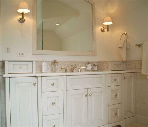 white bathroom vanity  pros  cons interior