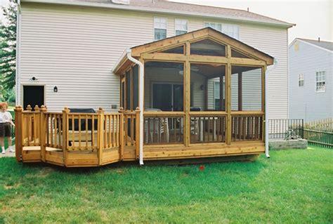 screen porch kits porch designs small
