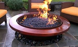 Handmade Outdoor Gas Fire Pit by Sawdust&Steel