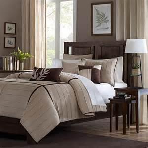 madison park dune comforter set california king beige 7198123 hsn