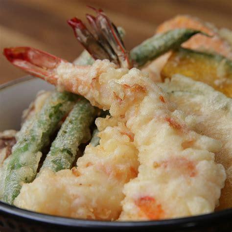 tempura bowl recipe  tasty
