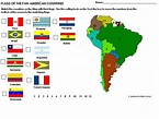 List of Countries in South America with maps, statistics ...