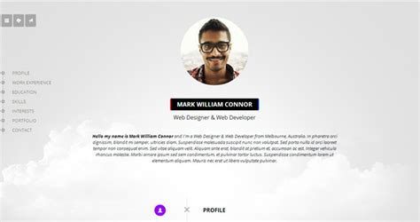 Resume Timeline Css by 30 Best Resume Cv Html Templates 2015