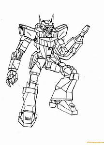 Shockwave Transformer Coloring Page - Free Coloring Pages ...