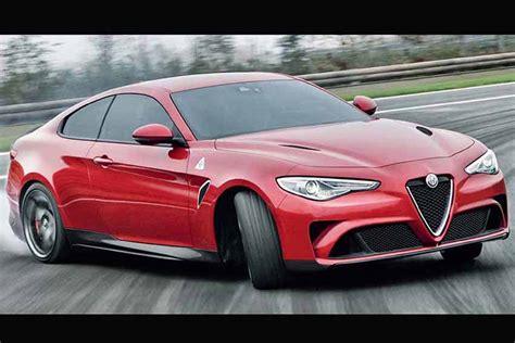 2019 Alfa Romeo Sprint Coupe : Alfa Romeo Giulia Coupé Arriverà Nel 2019 Con Motori Più