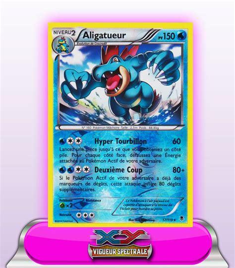 ALIGATUEUR HOLO REVERSE 150PV - 17/119 | Pokémon, Carte ...