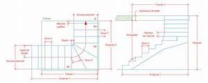 Calcul Escalier Quart Tournant : calcul d un escalier quart tournant beautiful escalier ~ Dailycaller-alerts.com Idées de Décoration