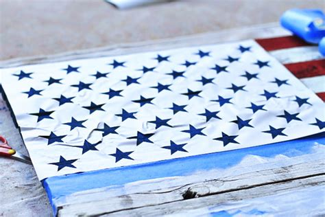 star template for pallet diy reclaimed wood american flag