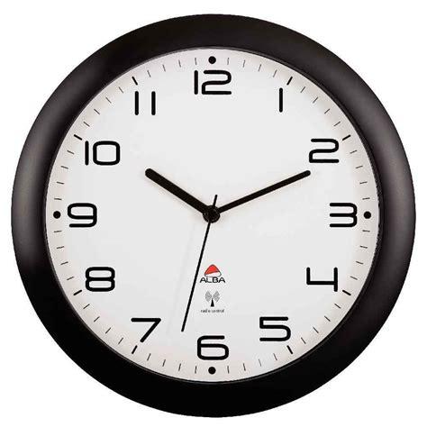 horloge murale diam 232 tre 30cm radio pilot 233 e alba vente de horloges pendules de bureau kwebox