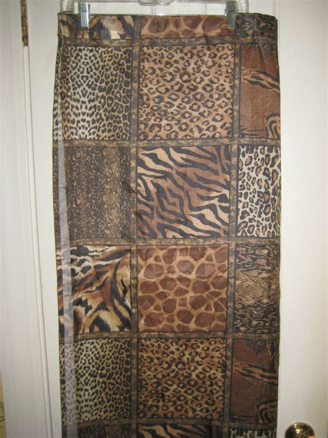 victoria classics shower curtain animal prints polyester