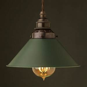 8 inch green coolie e27 shade With lamp shades and light fittings