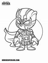 Panther Coloring Heroes sketch template