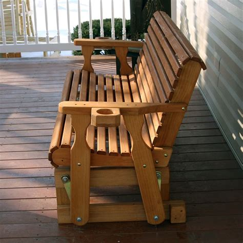 amish solid oak rocking chairs