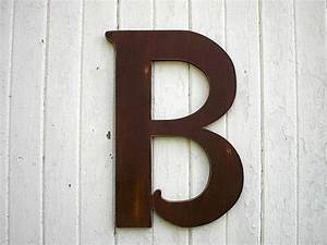 wooden letters b large 24 inch brown distressed wood wall With wooden wall letters large