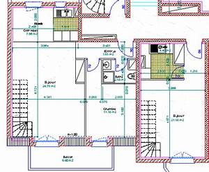 plans de maison gratuit a telecharger beautiful plan de With lovely logiciel de plan maison 2 cout dun architecte pour plan de maison