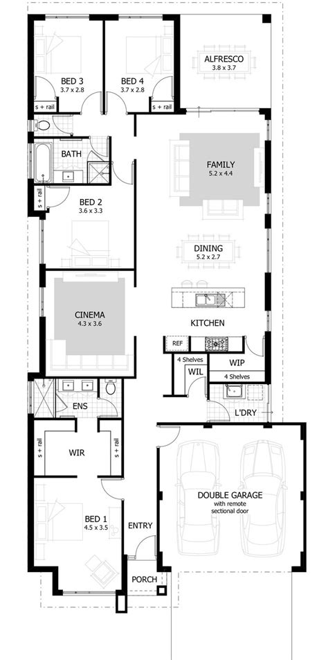 4 bedroom house plans 1 4 bedroom 3 bath house plans 1 home 4068