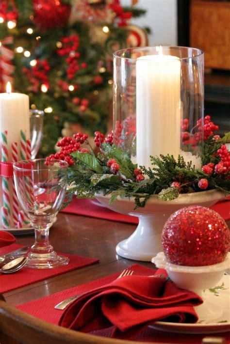 beautiful christmas table christmas centerpiece