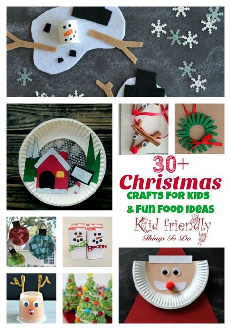 christmas things to make at home over 30 easy christmas fun food ideas crafts kids can make