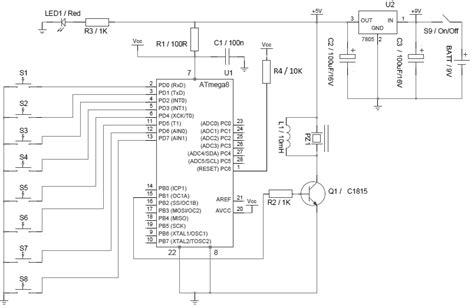 Atmega Sound Effects Generator Synthesizer