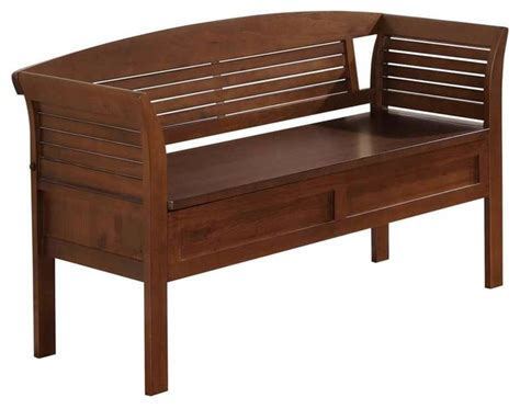 Accent Storage Bench by Entryway Storage Bench Tropical Accent And Storage