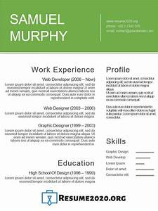 Good Example Of Resume Best Resume Templates 2020 Free 30 Examples In Docx