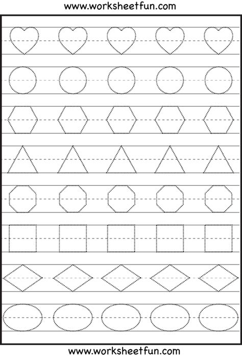 coloring pages preschool shapes worksheet free
