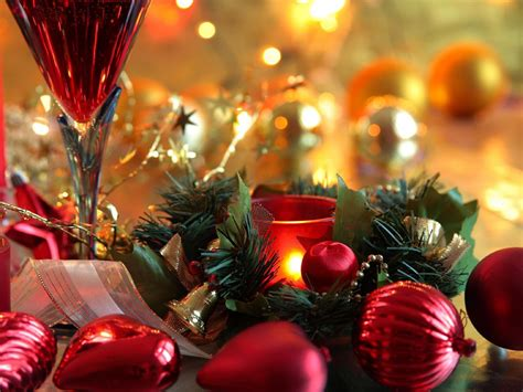 wallpapers christmas new year decorations
