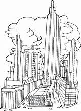 Coloring Pages York Buildings Colouring Architecture Tall Adult Sheets Printable Drawing Simple Skylines Cartoon Drawings Bestcoloringpagesforkids Template Worksheets Skyline Lfc sketch template