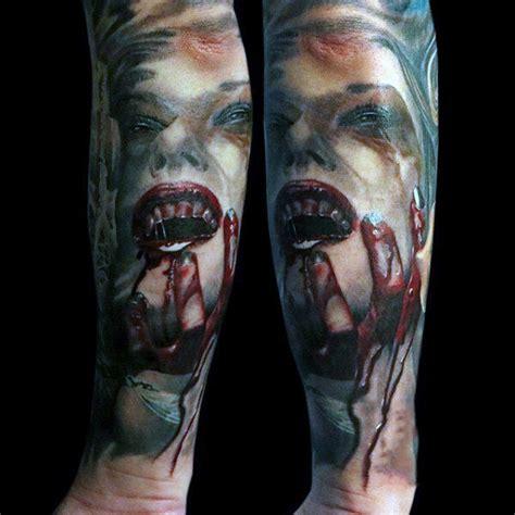 60 Vampire Tattoos For Men - Bite Into Cool Designs