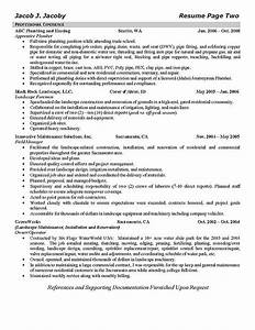 best photos of irrigation resume cover letter resume job With plumbing technician resume