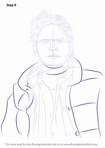 Learn How To Draw Marty Mcfly  Characters  Step By Step   Drawing Tutorials