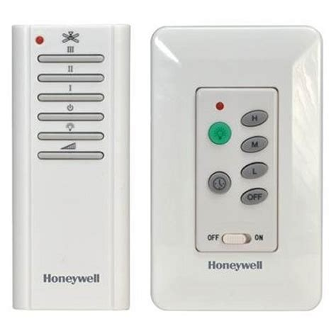 honeywell ceiling fan remote honeywell combo wall and handheld ceiling fan