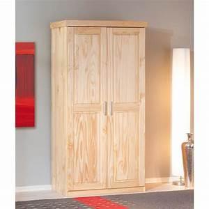 Armoire Pin Massif : armoire 2 portes pin massif achat vente armoire 2 ~ Dode.kayakingforconservation.com Idées de Décoration