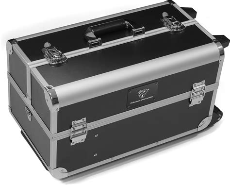 Two Side Two Tray Trolley Makeup Vanity