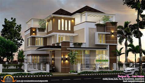 amazing luxury ultra modern homes  home kerala