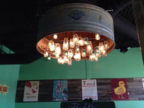 lighting fixtures round rock tx mason jar chandelier made with ball canning jars a cattle