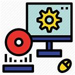 Hardware Icon Software Computer System Process Program