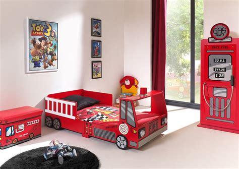 chambre garcon pompier lit enfant camion de pompier2 zd1 lit car 025 jpg