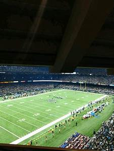 Mercedes Benz Superdome Section Suite 430 Row B Seat 5